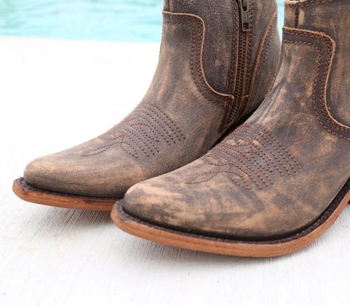 Liberty Black Prya Boots Vintage Canela LB711246 Toe