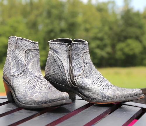 Liberty Black Prya Python Gris Boots LB711246 Image