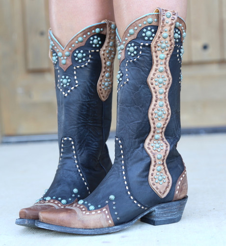 Old Gringo Cheryl Black Boots L3195-1 Photo