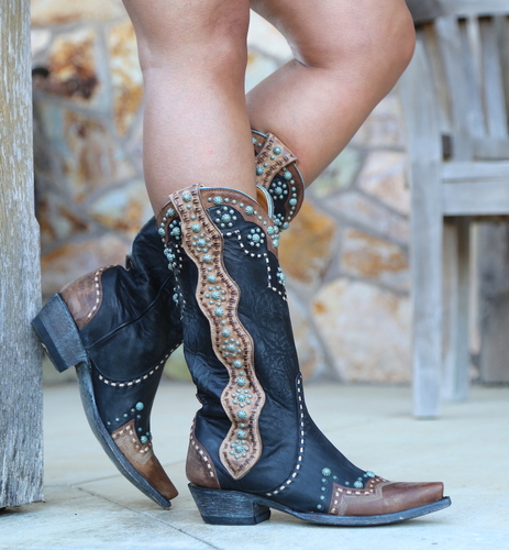 Old Gringo Cheryl Black Boots L3195-1 Picture