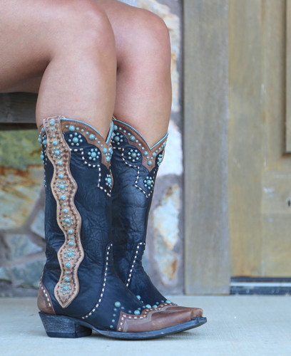 Old Gringo Cheryl Black Boots L3195-1 Image