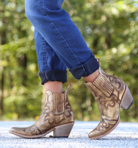 Yippee by Old Gringo Shay Bootie Gold YBL350-2 Photo