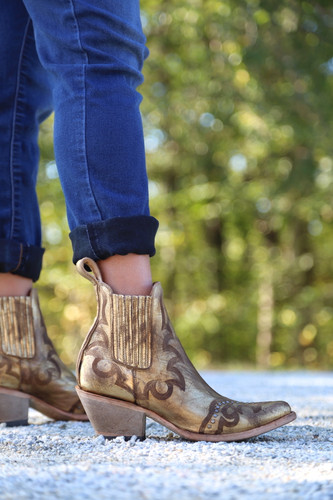 Yippee by Old Gringo Shay Bootie Gold YBL350-2 Image