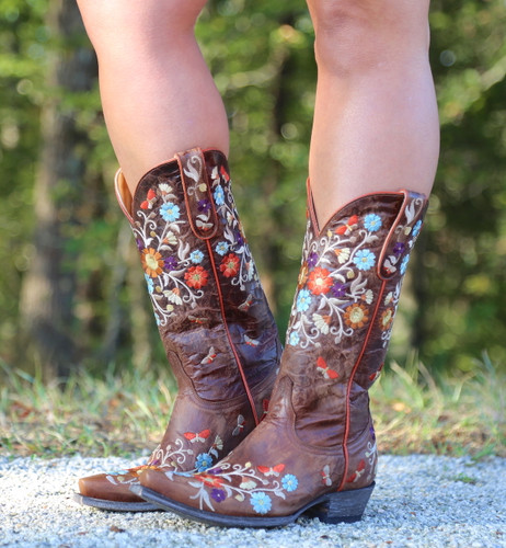 Old Gringo Cate Brass Boots L3185-2 Image