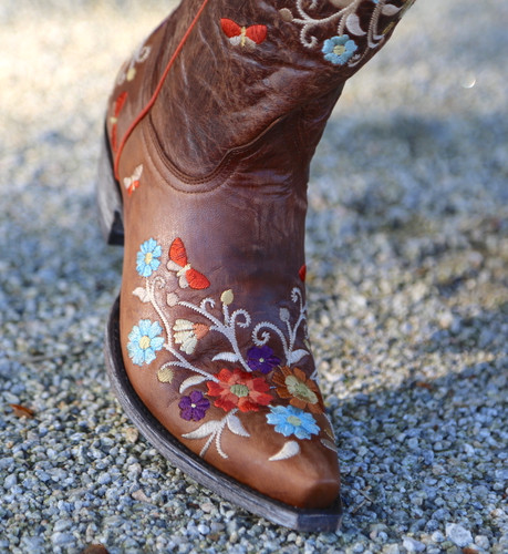Old Gringo Cate Brass Boots L3185-2 Toe