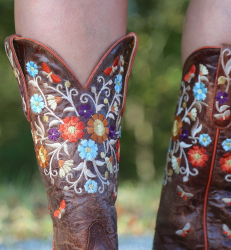 Old Gringo Cate Brass Boots L3185-2 Embroidery