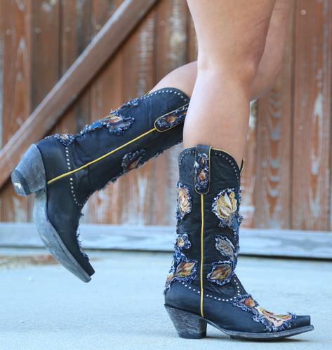 Old Gringo Carla Black Boots L3183-1 Walk