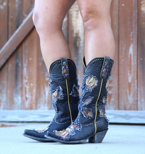 Old Gringo Carla Black Boots L3183-1 Photo