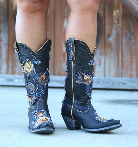 Old Gringo Carla Black Boots L3183-1 Front