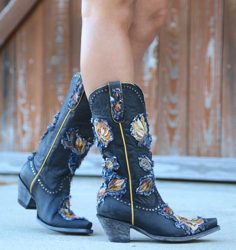 Old Gringo Carla Black Boots L3183-1 Picture