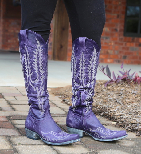 Old Gringo Mayra Bis Purple Boots L1213-21 Picture