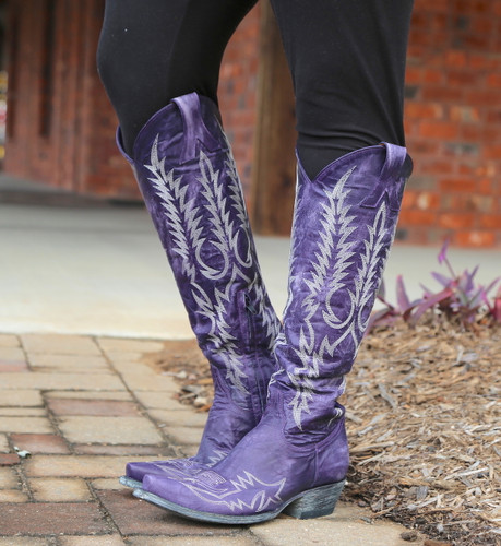 Old Gringo Mayra Bis Purple Boots L1213-21 Image