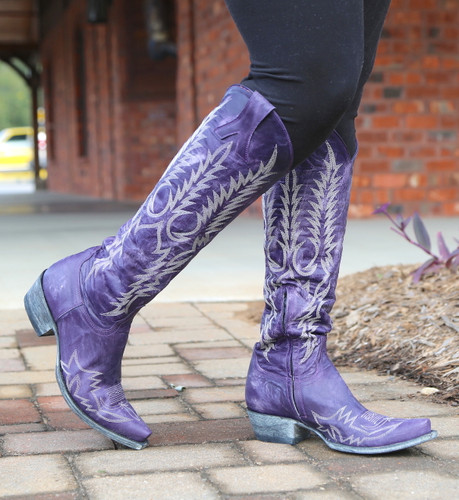 Old Gringo Mayra Bis Purple Boots L1213-21 Toe