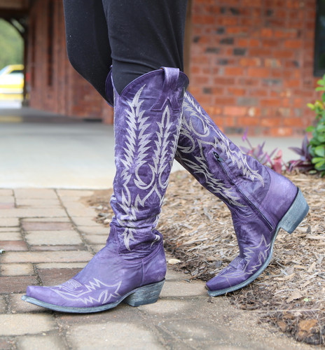 Old Gringo Mayra Bis Purple Boots L1213-21 Photo