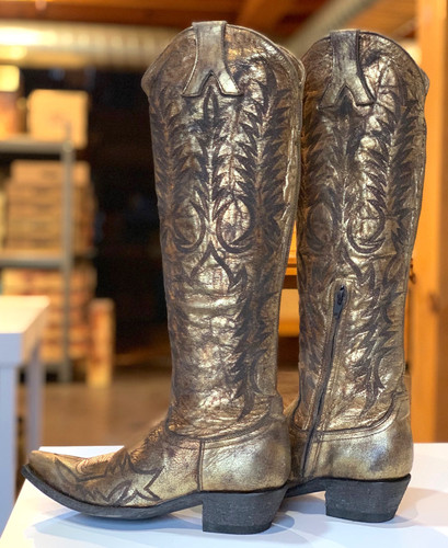 Old Gringo Mayra Bis Gold Boots L1213-29 Heel