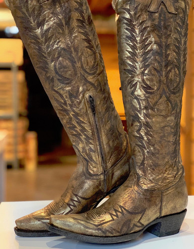 Old Gringo Mayra Bis Gold Boots L1213-29 Toe