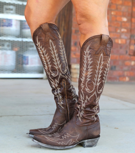 Old Gringo Mayra Bis Brass Boots L1213-4 Image