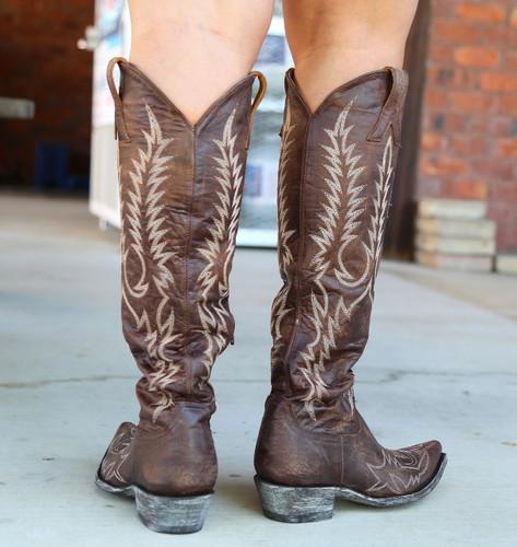 Old Gringo Mayra Bis Brass Boots L1213-4 Heel