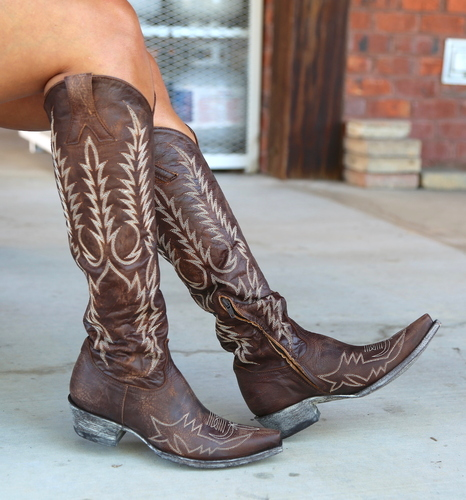 Old Gringo Mayra Bis Brass Boots L1213-4 Picture
