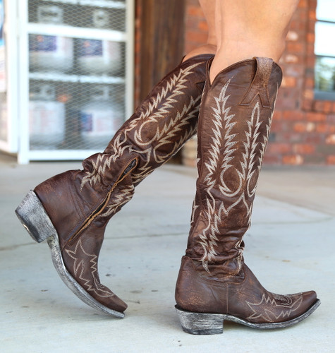 Old Gringo Mayra Bis Brass Boots L1213-4 Toe