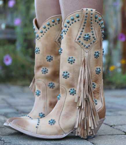 Old Gringo Savannah Straw Boots L3188-1 Photo