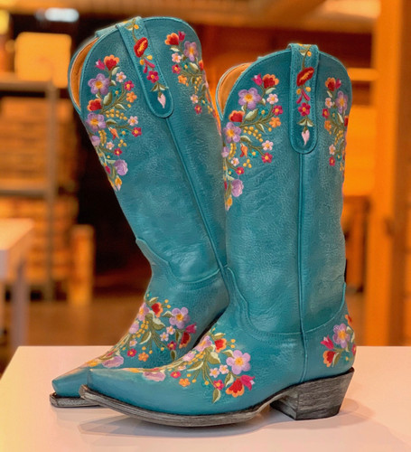 Old Gringo Sora Turquoise Boots L841-44 Picture