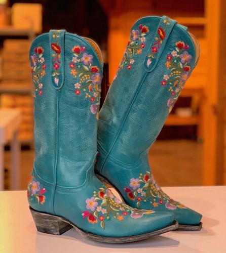 Old Gringo Sora Turquoise Boots L841-44 Image