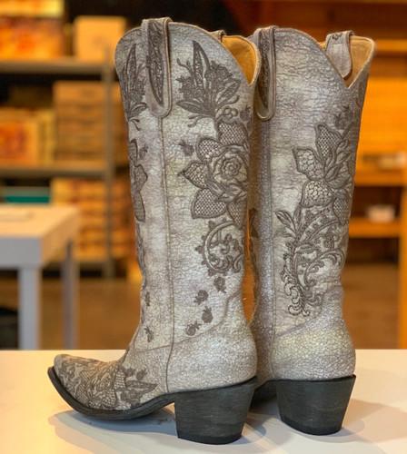Old Gringo Nicolette Milk Boots L2310-10 Heel