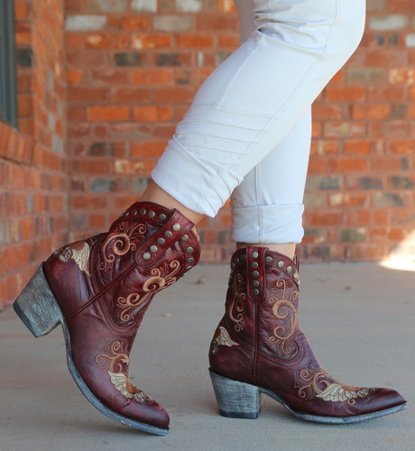 Old Gringo Little G Red Boots L734-7 Walk