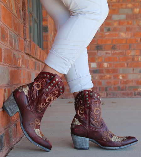 Old Gringo Little G Red Boots L734-7 Image