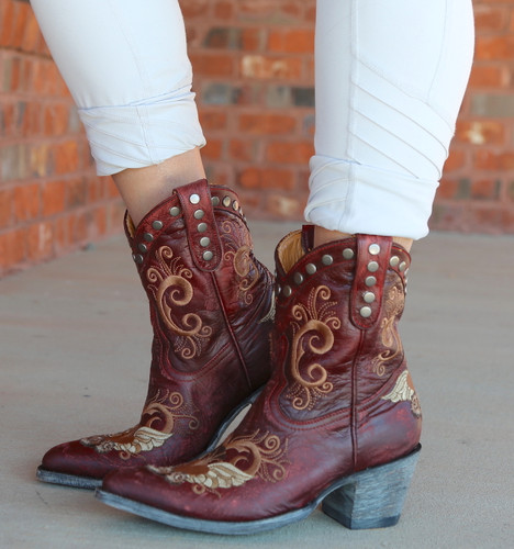 Old Gringo Little G Red Boots L734-7 Photo