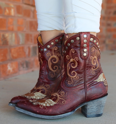 Old Gringo Little G Red Boots L734-7 Studs