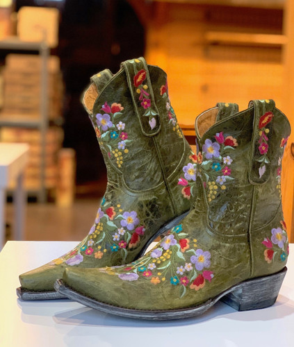 Old Gringo Sora Military Green Boots L841-43 Picture