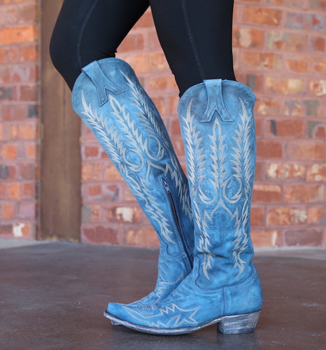 Old Gringo Mayra Bis Blue Boots L1213-30 Photo
