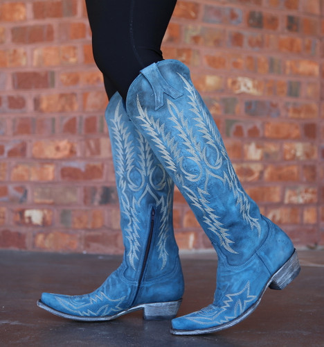 Old Gringo Mayra Bis Blue Boots L1213-30 Picture