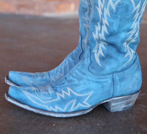 Old Gringo Mayra Bis Blue Boots L1213-30 Toe