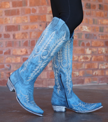Old Gringo Mayra Bis Blue Boots L1213-30 Walk