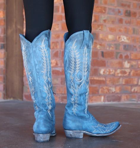Old Gringo Mayra Bis Blue Boots L1213-30 Heel