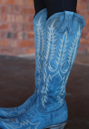 Old Gringo Mayra Bis Blue Boots L1213-30 Detail