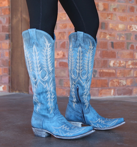 Old Gringo Mayra Bis Blue Boots L1213-30 Image