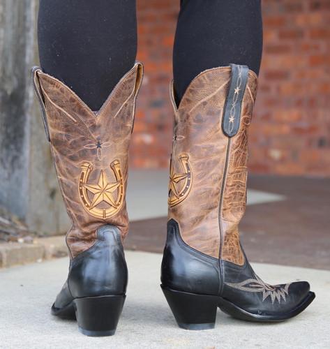 Old Gringo Thelma Black Boots L3192-2 Heel