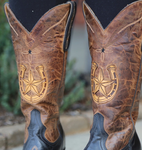 Old Gringo Thelma Black Boots L3192-2 Horseshoe