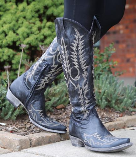Old Gringo Mayra Bis Dark Ink Blue Boots L1213-25 Photo