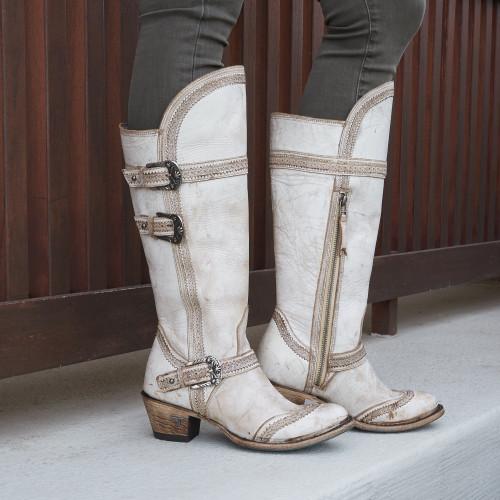 Lane Sakes Alive Dusty Tan Boots LB0401C Picture