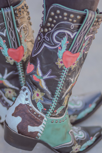 Double D by Old Gringo Midnight Cowboy Turquoise Black Boots DDL058-1 Picture