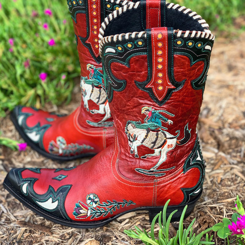Double D by Old Gringo Cass Red Boots DDL060-1 Picture