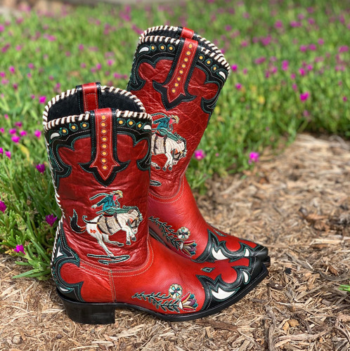 Double D by Old Gringo Cass Red Boots DDL060-1 Image