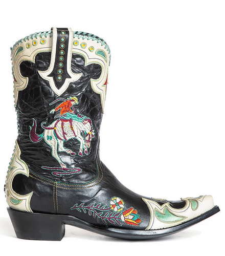 Double D by Old Gringo Cass Black Boots DDL060-2 Image