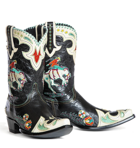 Double D by Old Gringo Cass Black Boots DDL060-2 Picture
