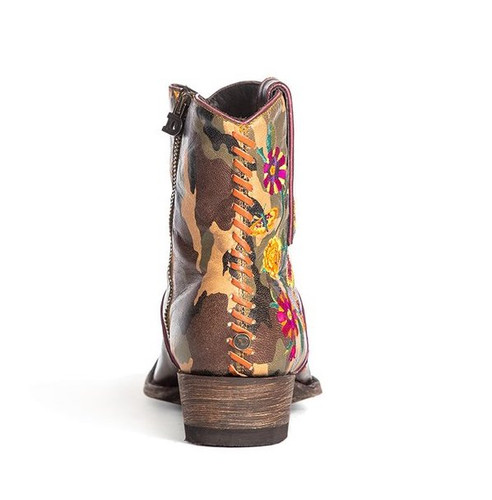 Double D by Old Gringo Cosmic Camo Boots DDBL061-1 Heel